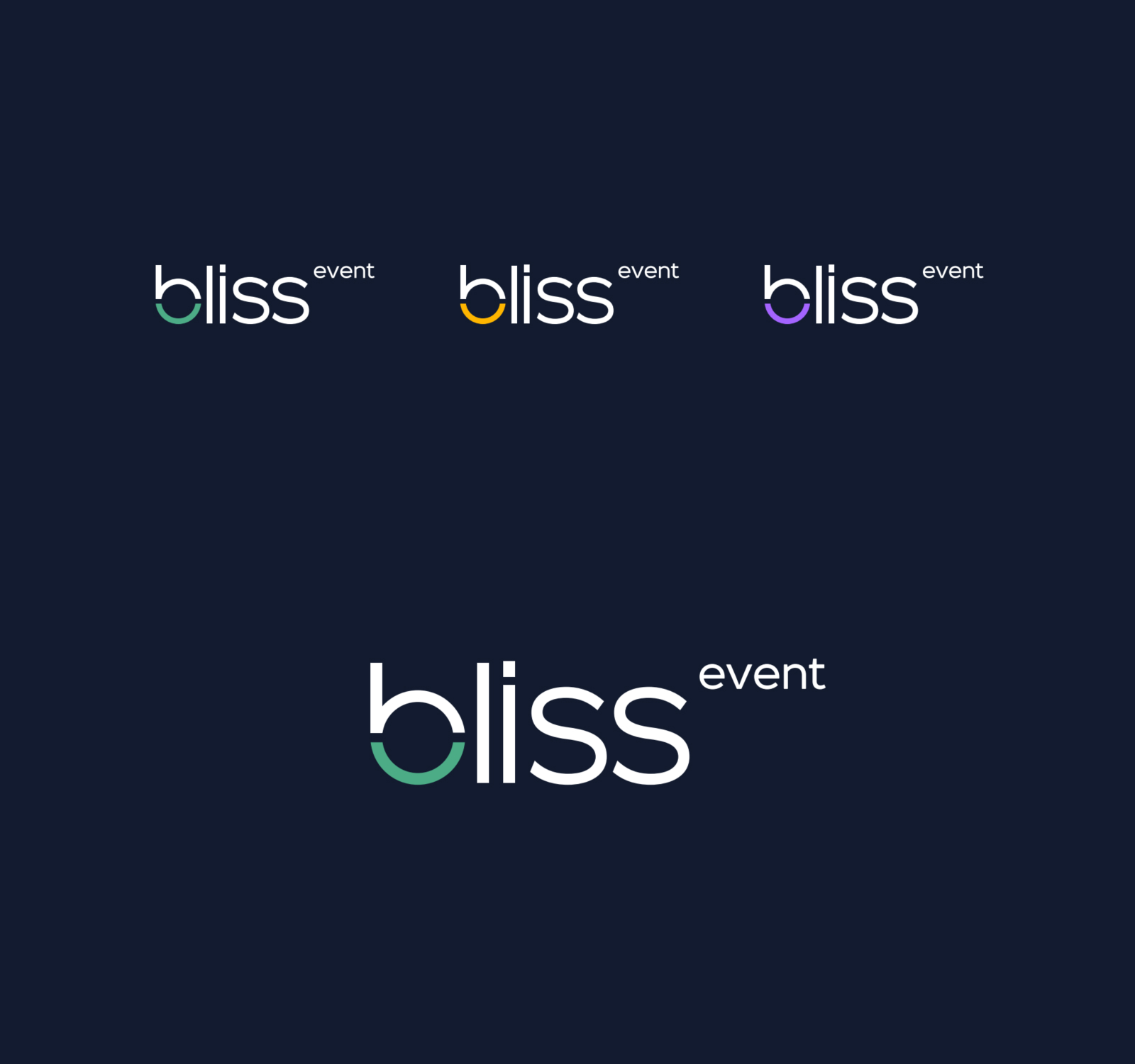 логотип bliss event агенства