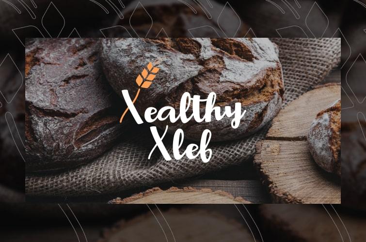 Разработка логотипа XealthyXleb